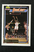 1992/93 Topps GOLD Michael Jordan High Light  #3 Bulls NRMT/MT - $29.69