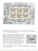 Usps Inverted Curtis Jenny Biplane Stamps New From 2013 & In Usps Sealed Pkg Nh - $29.00
