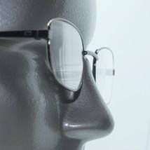 Reading Glasses Small Rectangle Lightweight Shiny Gray Metal Frame +2.50 Lens - $18.00