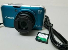 Canon PowerShot SX230 HS 12.1MP Digital Camera - Blue *GOOD/TeSTED* - $34.64