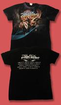 THE BLACK EYED PEAS - 2010 WORLD TOUR CONCERT T-SHIRT / SZ. SMALL - $11.39