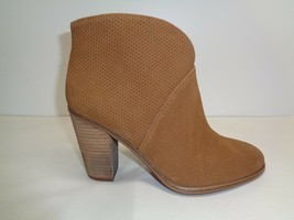 Vince Camuto Size 6.5 M FRANELL Brown Suede Leather Ankle Boots New Wome... - £95.54 GBP
