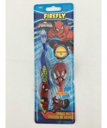 Spiderman Toothbrush Marvel Comic Character Super Hero Travel Kit Blue 2 Pc - $5.58