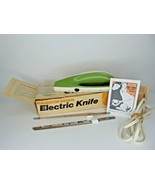 Vintage Hamilton Beach Avocado Electric Knife works box papers               C18 - $29.69
