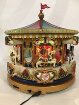 Mr Christmas 1994 Holiday Carousel Merry go Round Musical 21 Songs Box V... - $118.80