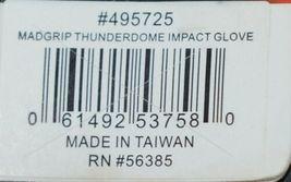 MADGRIP 495725 Thunderdome Impact Gloves Black Grey Rubber XL image 7