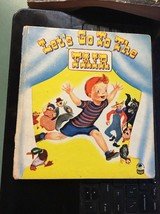 LET'S GO TO THE FAIR BOOK BY MICKEY KLAR MARKS 1951 hardcover childrens ... - $19.99