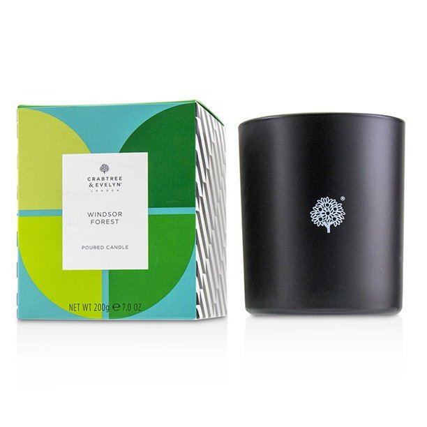 Crabtree & Evelyn Windsor Forest Fragrance Scented Poured Candle 7 Oz - $50.00