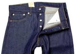 Levi's 501 Men's Original Straight Leg Jeans Button Fly Blue 501-1000 image 2