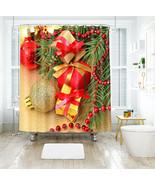 3D Weihnachten Xmas 025 Duschvorhang Wasserdicht Faser Bad Daheim Window... - $63.52+