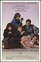 breakfast club ONE SHEET 24x36 poster  - $21.00