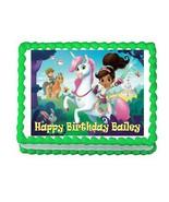 Nella the Princess Knight edible cake image topper frosting sheet decora... - $7.80