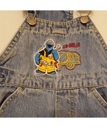 Jeans Denim Overalls Cookie Monster Truck Size 12 Months Sesame Street 2004 - $14.89