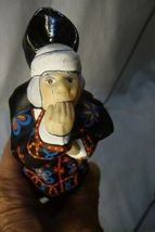 Vaillancourt Folk Art , Ghost of Christmas Future Ornament Charles Dickens image 4