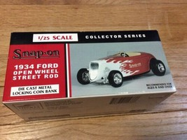 NEW Snap-On 1934 Ford Street Rod Limited Edition Die-Cast 1/25 Collector... - $37.95