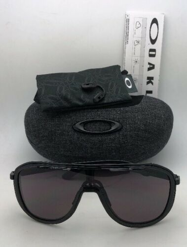 New OAKLEY Sunglasses OUTPACE OO4133-01 Black Ink-Black Frame w/ Warm Grey Lens image 11