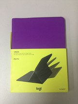 Logitech CREATE Protective Case + Any Angle for Apple iPad Pro 12.9 (Purple) - $12.59