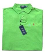 "NWT Polo Ralph Lauren ""Custom Fit Mesh"" Polo Shirt Cucumber Men's XL 100... - $44.50"