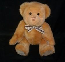 """15"""" VINTAGE RUSS BERRIE BROWN JOINTED TEDDY BEAR # 7805 STUFFED ANIMAL P... - $23.38"""