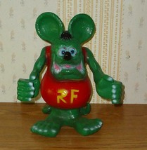 RAT FINK Big Daddy Ed Roth Statue  Hot Rod Art Cast Aluminum 12'' tall - $59.39