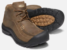 Keen Portsmouth Chukka Size 13 M (D) EU 47 Men's WP Casual Shoes Brown 1019523 - $99.91