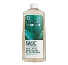 Desert Essence - Tea Tree Oil Mouthwash Refill   473ml - $17.42