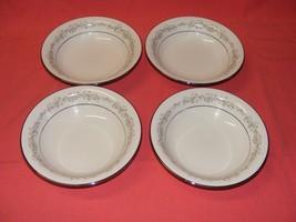 """4 Noritake Parkridge 7 3/8"""" Soup Bowls Fine Porcelain  - $24.95"""
