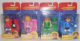 Lot Alvin And The Chipmunks Set of 4 Brittany Simon Theodore New Dolls 3... - $23.80