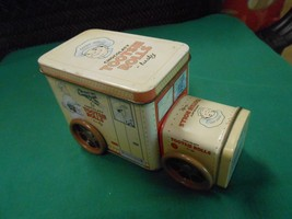 Great Collectible CHOCOLATY TOOTSIE ROLLS Tin Truck Canister..FREE POSTA... - $16.42