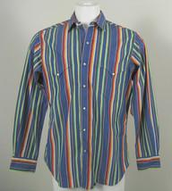 NEW! $185 Polo Ralph Lauren RL Western Fine 2 Ply Southwestern Shirt! L - $99.99
