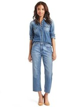 GAP ORIGINAL 1969 wide-leg crop jeans - $41.97