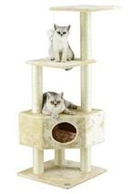Go Pet Club Cat Tree Beige Color - $42.03