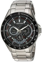 Armitron Men's 46mm Multifunction Silvertone Watch - $82.21