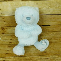 Baby Gund Goodnight Prayer Bear Blue Plush Stuff Animal 3 Prayers Jesus ... - $29.02