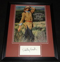 Shelley Smith Signed Framed 11x14 Photo Poster Display The Associates C - $58.54