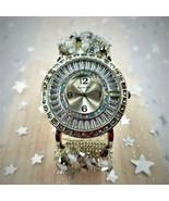 Woman's Swarovski Crystal Band Glamorous Original Dazzling Design w/ NAR... - $330.75