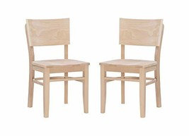 Linon Unfinished Set of 2 Desi Side Chair - $999.99