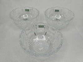 Mikasa Hoya Japan Crystal Bowls Set of 3 - $43.54
