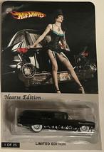 Hot Wheels Custom made  Hearse Black limited edition Diecast Hot Wheels - $86.01