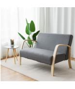 Mid Century Loveseat Sofa Couch Love Seat Modern Arm Retro Furniture Sof... - $189.97