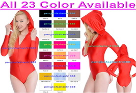 Sexy Short Body Suit New 23 Color Lycra Spandex Short Suit Catsuit Costu... - $36.99