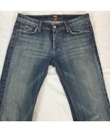 7 For All Mankind Jeans Bootcut Flynt Crystal Pocket Medium Wash Stretch... - $41.82
