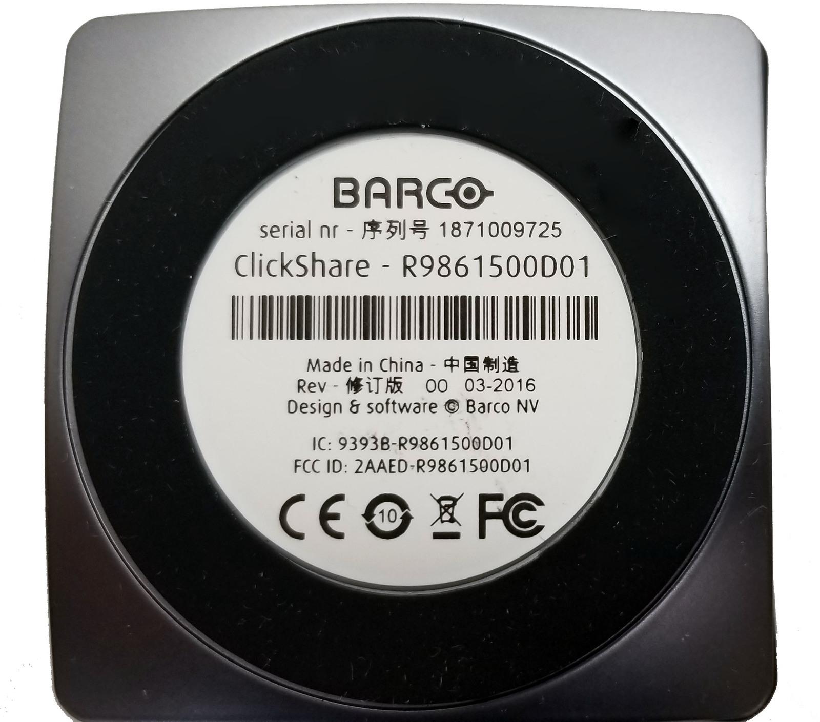 Barco ClickShare Button USB (R9861500D01) Bin:6