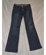Juniors Princy By Jessica Simpson Denim Blue Jeans ~ Sz 5 ~ Boot Cut ~Di... - $14.84
