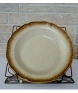 "Set of 6 MIKASA Whole Wheat  E8000 Vintage Ironstone 81/2"" Soup Bowls - $34.00"