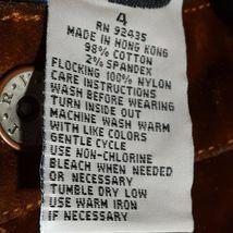 Flocked Denim R.V.T. Jeans Various Sizes New image 5