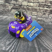Fisher Price Batgirl Little People DC Super Friends Vehicles and Removable - $15.83