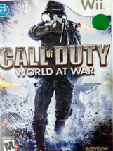 Call of Duty: World at War (Nintendo Wii, 2008) -- COMPLETE - $5.01