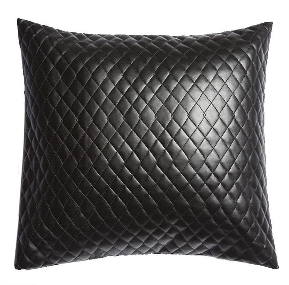 Primary image for 100% Lambskin Leather Pillow Cover Sofa Cushion Case Decorative Room & Bed-13