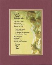 Touching and Heartfelt Poem for Extended Family Members - You Are a Special Godd - $15.79